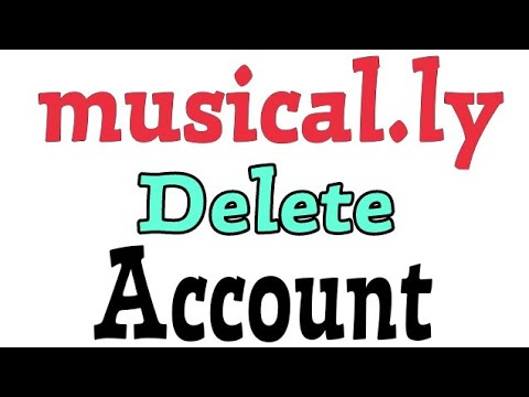 How To Delete Musical.ly Account