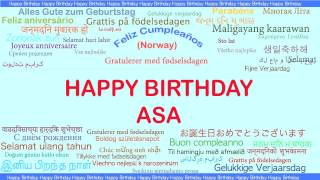 Asa   Languages Idiomas - Happy Birthday