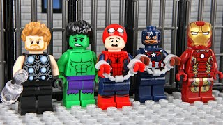Lego Avengers Prison Break