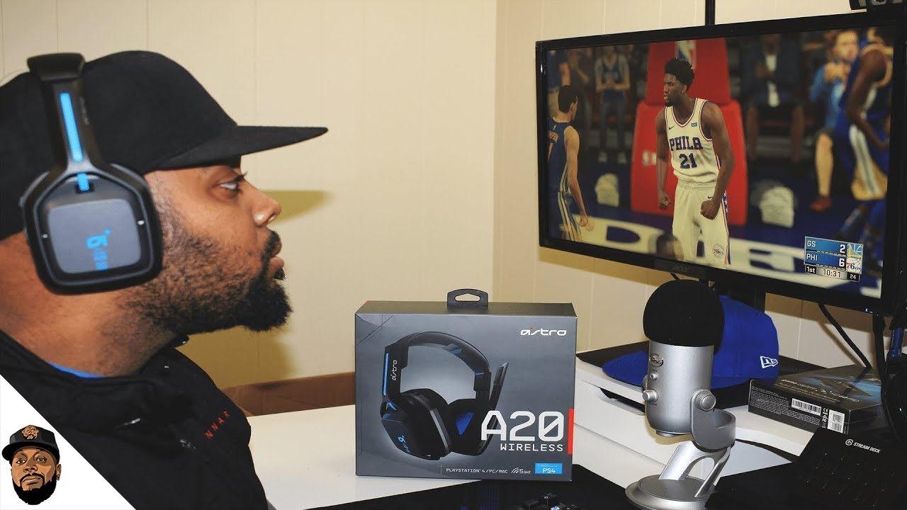 b0d4af86e9dc83 New Astro A20 Wireless Gaming Headset Unboxing & Setup! Mic Test + ...