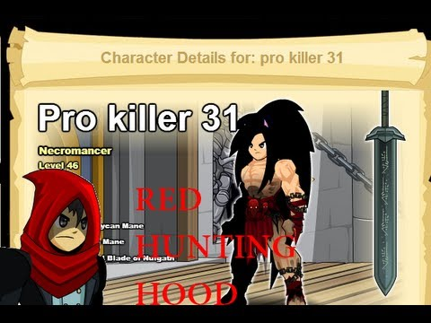 aqw how to get the red hunting hood