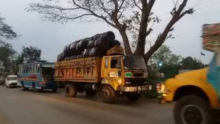 Dhaka Road Bus & Track