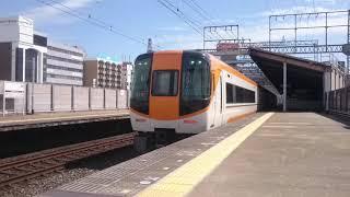 近鉄22000系AL編成 リニューアル車 送り込み回送 八尾駅通過