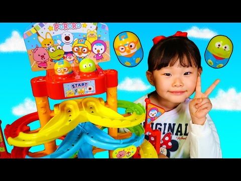 Rolling Pororo Athletics Making Playset Eating Show LimeTube&Toy