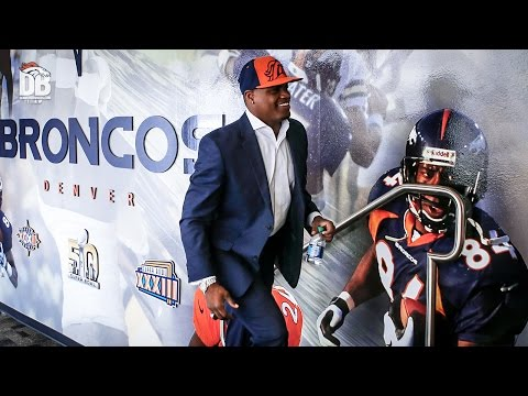 Carlos Henderson tours the Broncos facility