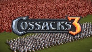 10,000 ARCHERS vs 1,000 WINGED HUSSAR! - UNBELIVABLE RESULTS! - COSSACKS 3