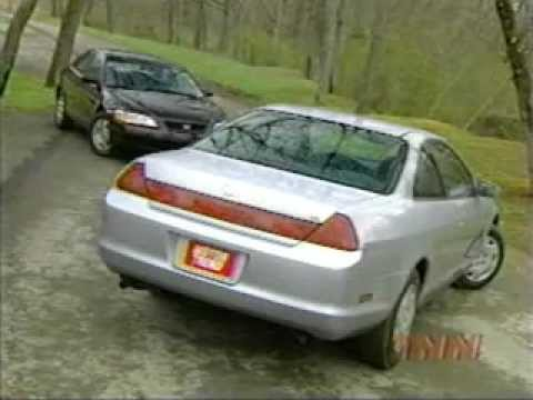Delightful Test Honda Accord Coupe 1999