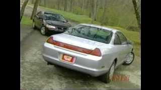 Test Honda Accord Coupe 1999