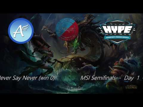 MSI Day 1 Stream 2 VOD FrostyB AllSpark HP CL AE