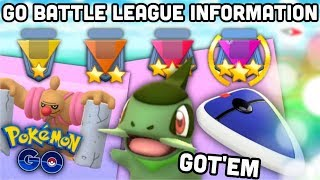 I actually got this in Pokemon GO | So much GO Battle League information plus pay to play