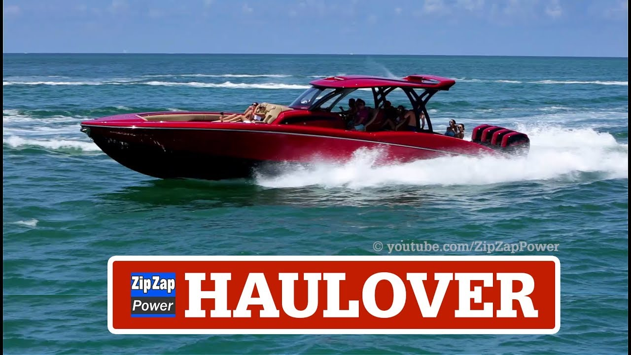 Haulover Boats Some Nice Boats Youtube