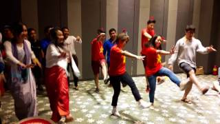 TRỐNG CƠM - Vietnam Delegation (Youth Camp for Asia's Future 2017)