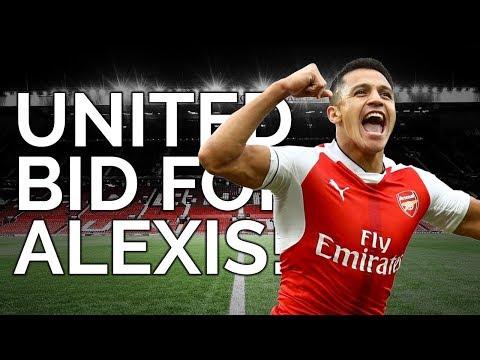 United Bid For Alexis Sanchez! | Manchester United Transfer News