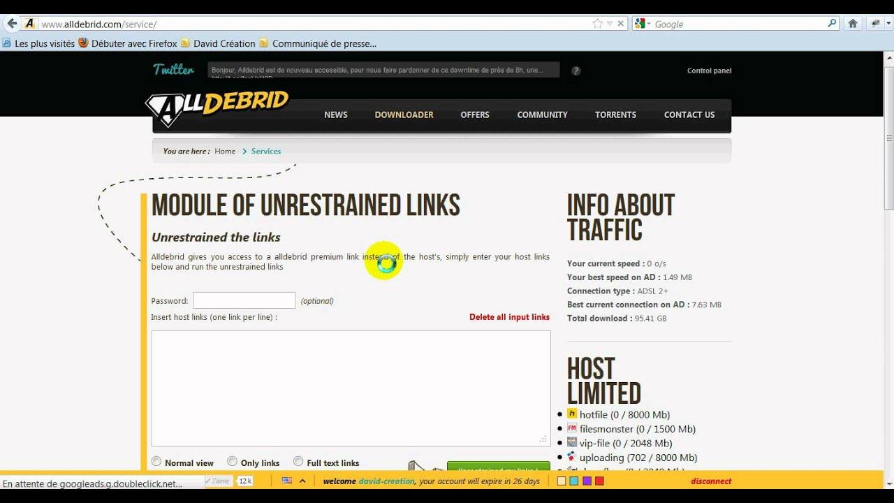 downloader avec IDM et Alldebrid.avi