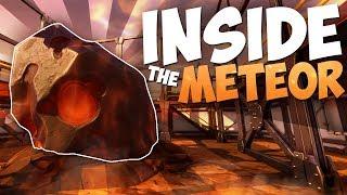 INSIDE THE METEOR & Secret Spots In the Fortnite Season 4 Map