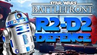 R2-D2 DEFENCE ★ Star Wars Battlefront (w/ Dumb and Dumber)