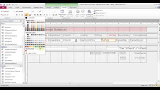 In this video learn more about creating a report for balance invoice and indexes. also to create buttons using macros find records, print or email o...