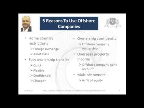 Offshore Companies Formation | 5 Reasons To Own Overseas Property Via An Offshore Company