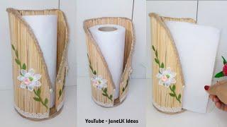 DIY Porta Papel toalla de cocina útil y Decorativo