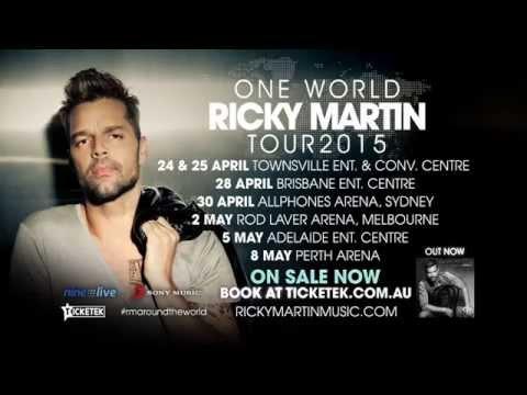 Ricky martin concert melbourne