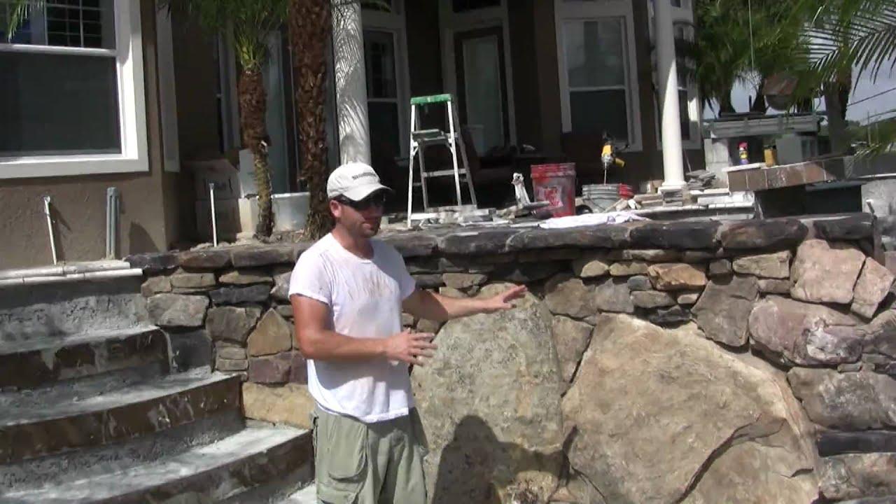 Pool Design Stone Grotto Stone Spa and Stone Walls