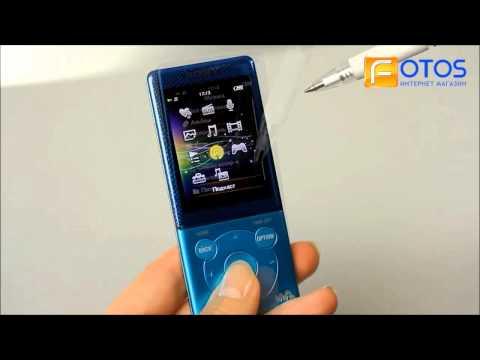 Выбор плеера Sony Walkman E. Купить Mp3 плеер Sony Walkman.