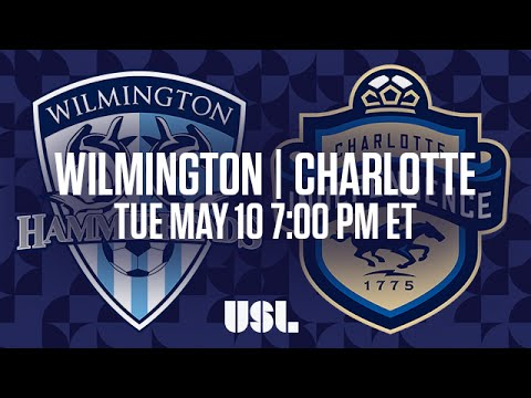 WATCH LIVE: Wilmington Hammerheads FC vs Charlotte Independence 5-10-16