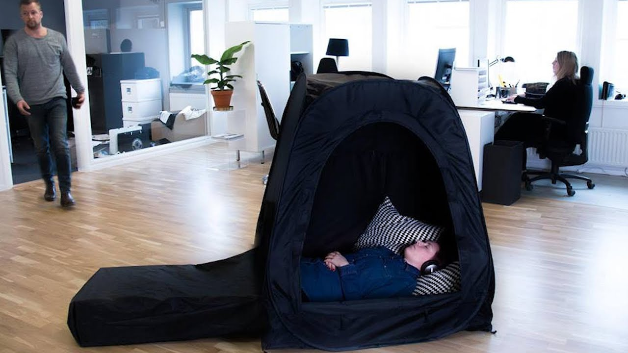 pause pod one-person privacy tent for office