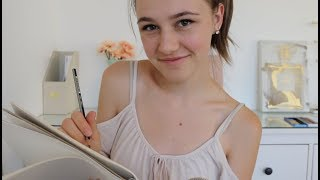 ASMR - Drawing You! ♡ Sketching Your Face