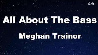 All About That Bass - Meghan Trainor Karaoke 【With Guide Melody】Instrumental