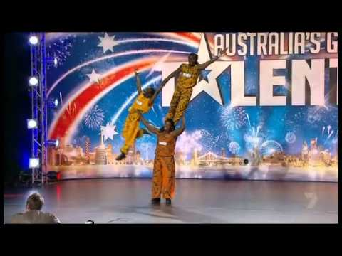 Australia's Got Talent 2011 - Afrikan Warriors Acrobats