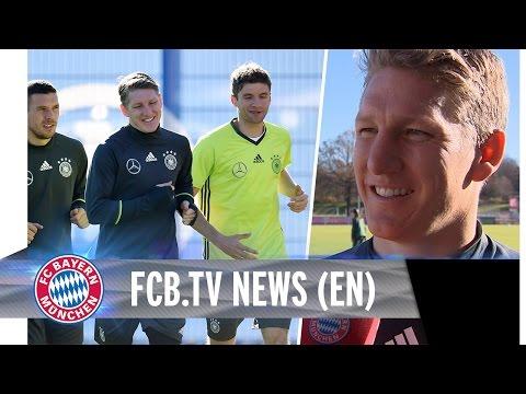 Bastian Schweinsteiger back at Bayern