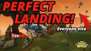 HOW TO LAND FASTER IN FORTNITE!!!!! NEW (MUST WATCH TUTORIAL)