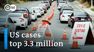 California shuts down again as coronavirus cases surge | DW News