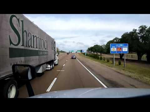 Bigrigtravels Live! - Jackson to Tillatoba, Mississippi - Interstate 55 - November 9, 2016