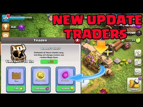 OMG !! Trading in Clash of clan?? New update concept 2018