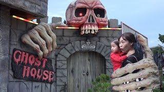 귀신의 집은 너무 무서워요!! 서은이의 고스트 하우스 체험 메이즈 하우스 해골 방 탈출하기 Escape Ghost Hosue