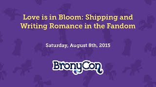 Love is in Bloom: Shipping and Writing Romance in Fandom