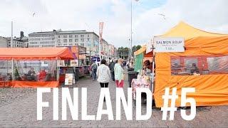 フィンランド・ヘルシンキの旅 #5 / マーケット広場・ヘルシンキ大聖堂・ウスペンスキー大聖堂を観光 / Helsinki Finland Travel #5