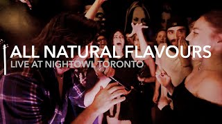 All Natural Flavours - La Bamba + Twist & Shout Medley - Live at Nightowl Toronto