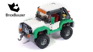 Lego Creator 31037 Adventure Vehicles - Lego Speed Build