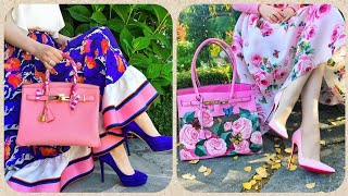 Beautiful And Stunning Matching Hand Bags/Matching Sandals Ideas For Girls