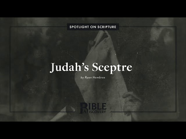 Was David allowed to be King according to the Mosaic Law? | Spotlight on Scripture | Judah's Sceptre