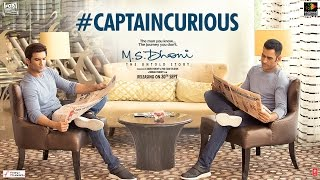 What is our Captain Cool, M.S.Dhoni so curious about? Find out as he questions our reel life Dhoni, Sushant Singh Rajput. M.S. Dhoni - The Untold Story is a ...