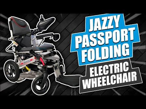 Pride Mobility Jazzy Passport Folding Electric Wheelchair