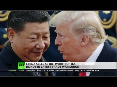 China Sells $3 Billion of US Debt as Trade War Surges