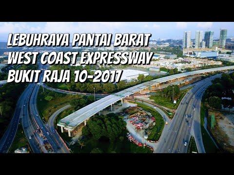 Bukit Raja Exit Lebuhraya Utara Selatan | West Coast Expressway | 28.10.2017