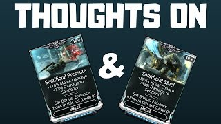 Warframe | Thoughts About The Sacrificial Mod Set