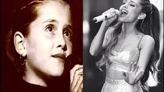 Ariana Grande Through The Years (2001-2014) HD