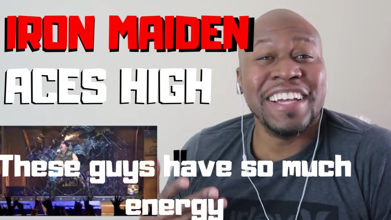 Download Amazing Reaction To Iron Maiden -Aces High Live (Flight 666)